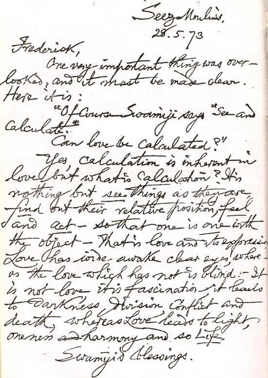 lettre en anglais